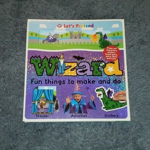 Wizard: fun things to make and do activity book